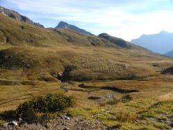 Alpe Pojala e imbocco della voragine