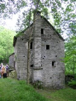 Una delle case