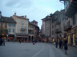 Piazza Mercato a Domodossola