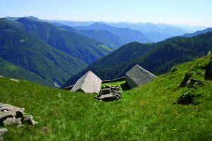 Vista sulla Valle Onsernone (dall'Alpe Ruggia)